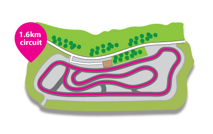 cycle circuit 1.6km